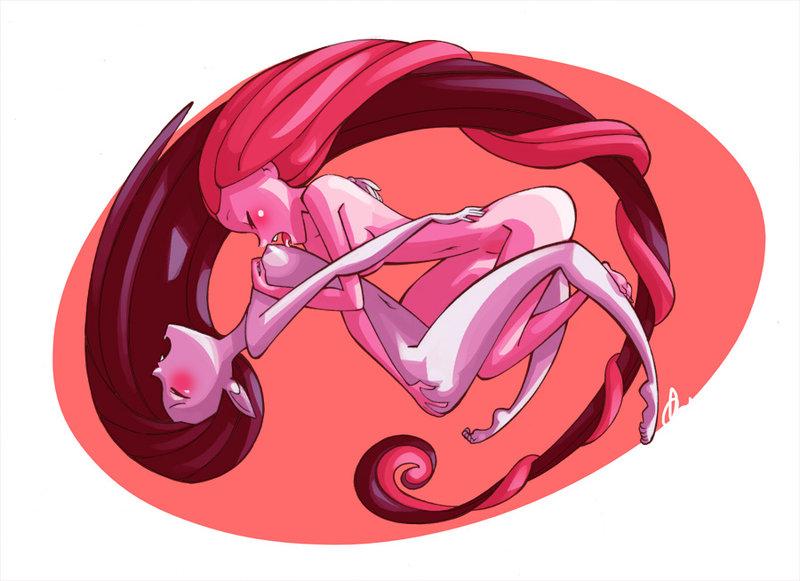 yuri princess and marceline bubblegum Blade x bullet - kinrin no soleil