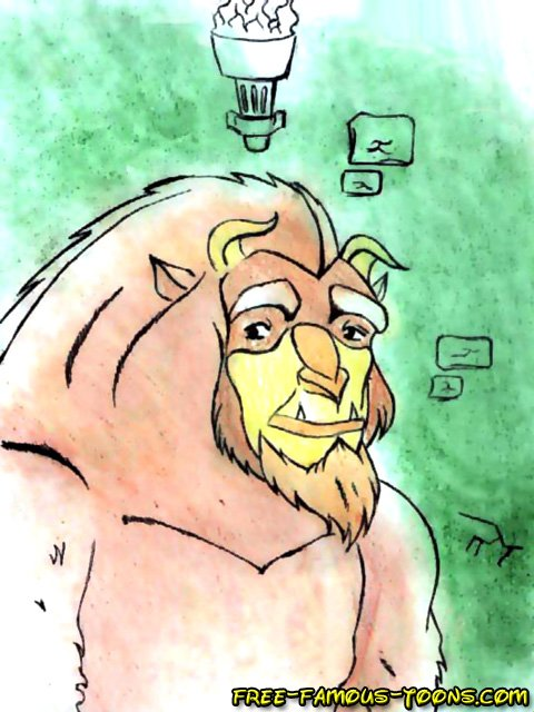 bimbette the and beauty beast Shenzi in the lion king