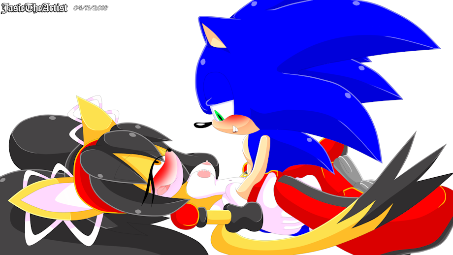 sonic werehog the tails and All the way in xxx