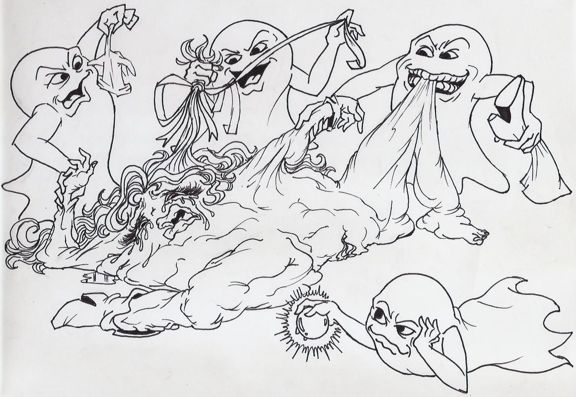 animation by minus8 pac-man ghosts Jontron fbi should be knocking
