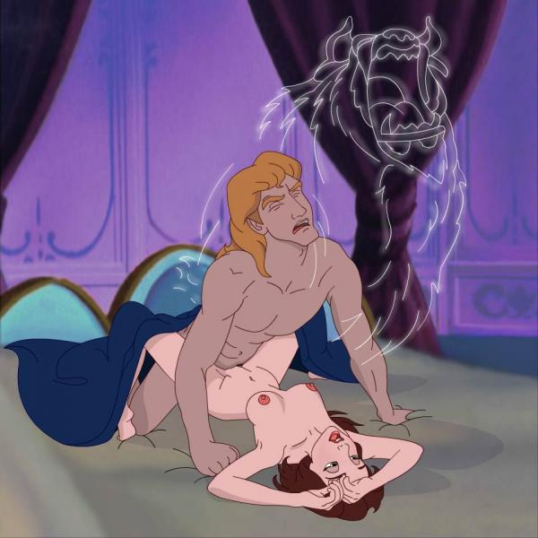 the and belle beauty pregnant beast Sex in phineas and ferb