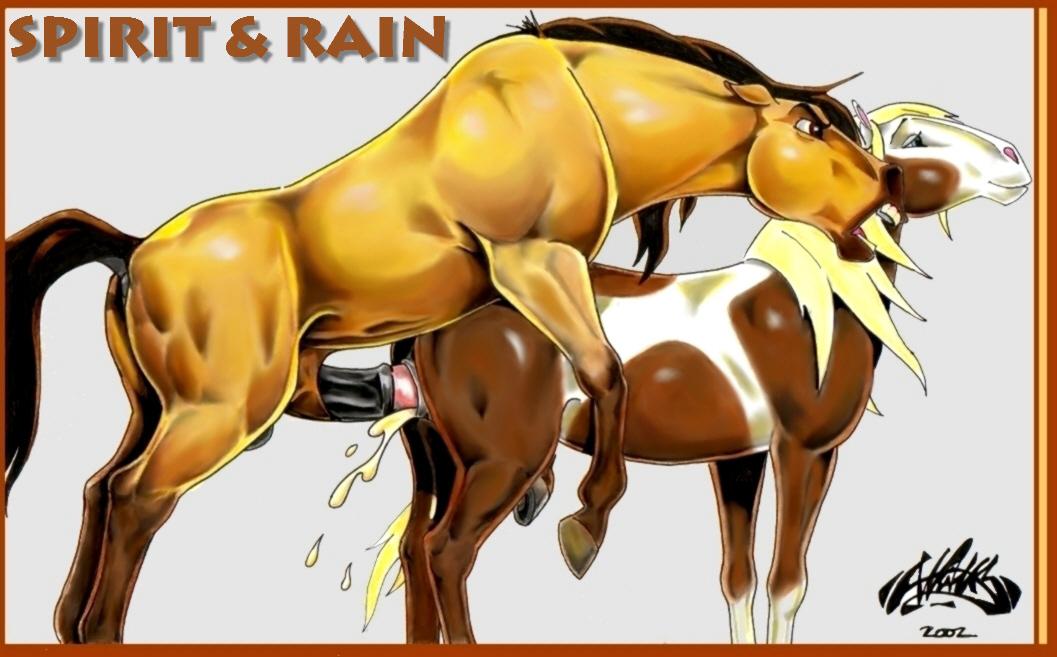 rain cimarron spirit the of stallion Kiss x kiss x kiss