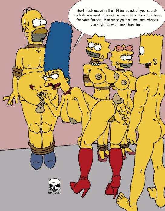 lisa homer porn and simpson Harley quinn double butt crack