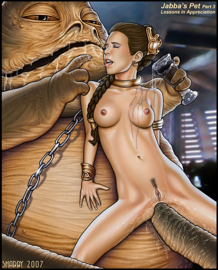 jabba the gif hutt choking Spookys house of jump scares