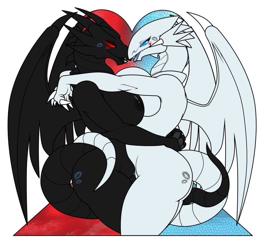 white hentai blue eyes dragon Is this a zombie nude