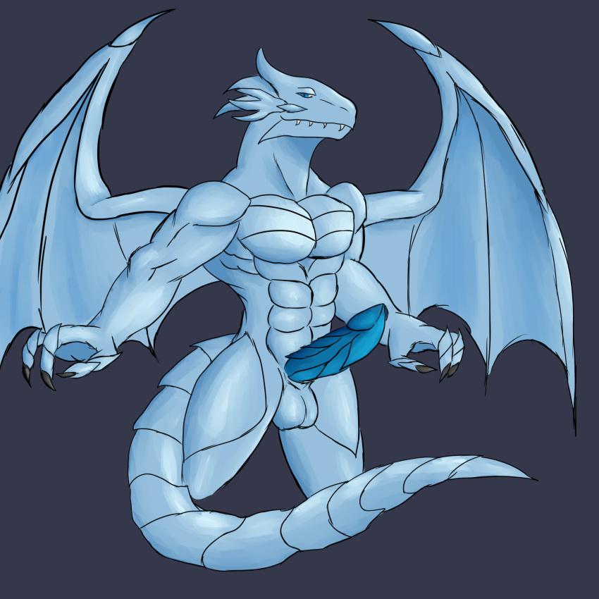 dragon white eyes blue Chief riju breath of the wild