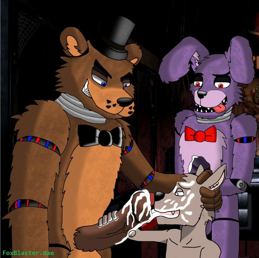 girl five nights purple freddy's at My little pony cranky doodle donkey