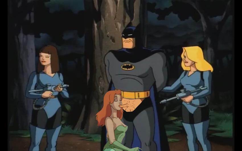 ivy batman poison 2004 the J-10 steven universe