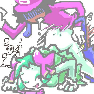 characters mario tennis tour power Maken-ki battling venus